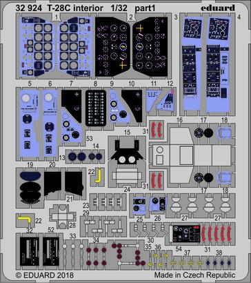 T-28C interior 1/32  - 1
