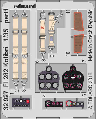 Fl 282 コリブリ 1/35  - 1