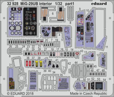 MiG-29UB interior 1/32  - 1