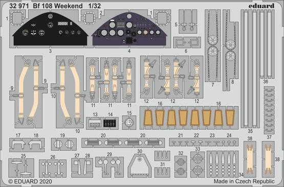 Bf 108 Weekend 1/32