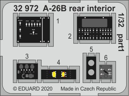 A-26B rear interior 1/32  - 1