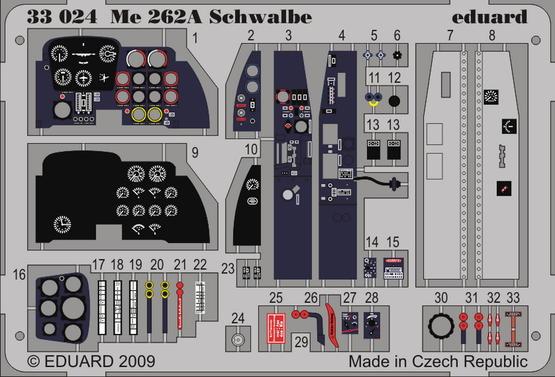 Me 262A Schwalbe S.A. 1/32