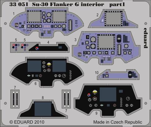 Su-30 Flanker G interior S.A. 1/32  - 1