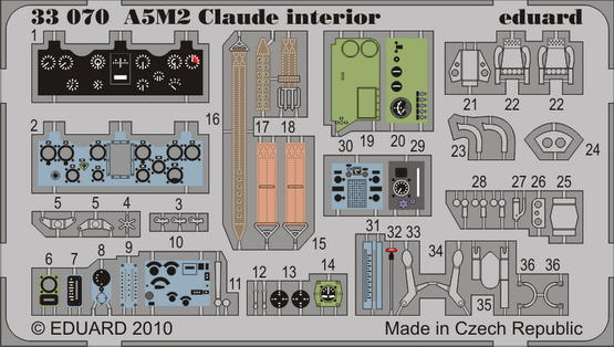 A5M2 Claude interior S.A. 1/32
