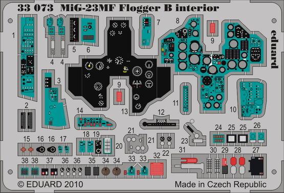MiG-23MF Flogger B interior S.A. 1/32