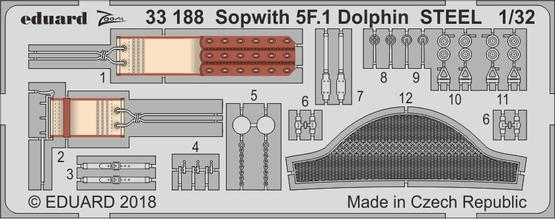 Sopwith 5F.1 Dolphin STEEL 1/32