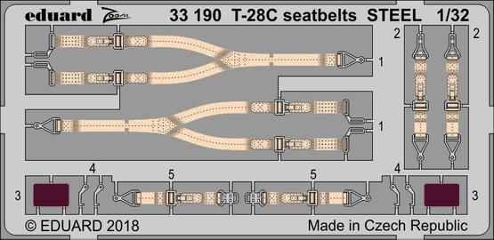 T-28C upínací pásy OCEL 1/32