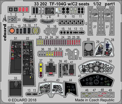 TF-104G w/C2 座席 1/32  - 1