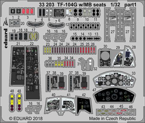 TF-104G w/MB seats 1/32  - 1