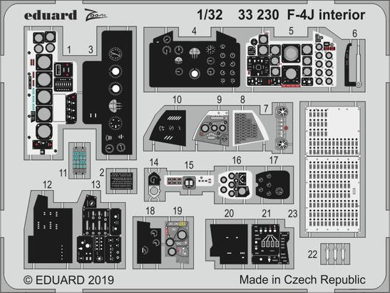 F-4J интерьер 1/32
