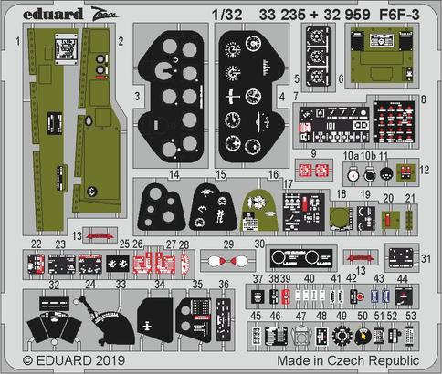 F6F-3 1/32  - 1