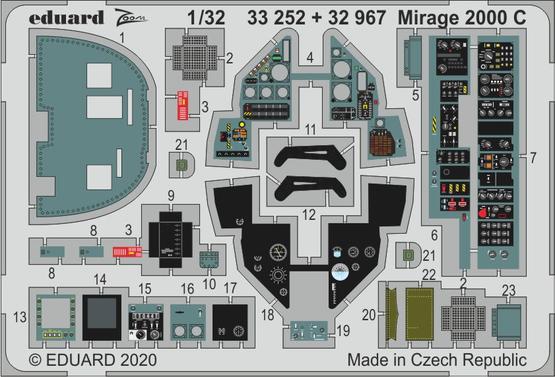 Mirage 2000 C 1/32