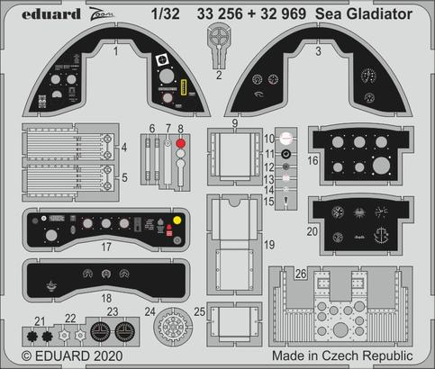 Sea Gladiator 1/32  - 1