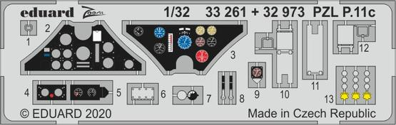 PZL P.11c 1/32  - 1