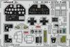 P-40E interior 1/32 - 1/2