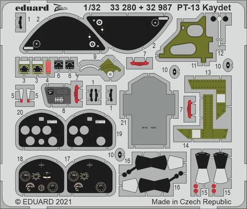 PT-13 Kaydet 1/32  - 1