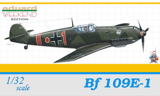 Bf 109E-1 1/32