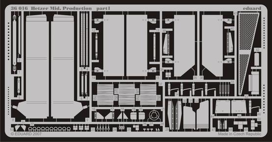 Hetzer Mid. Production 1/35  - 1