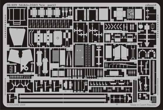 Sd.Kfz.250/1 Neu 1/35  - 1