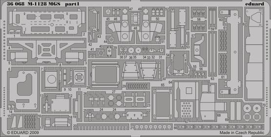 M-1128 MGS 1/35  - 1