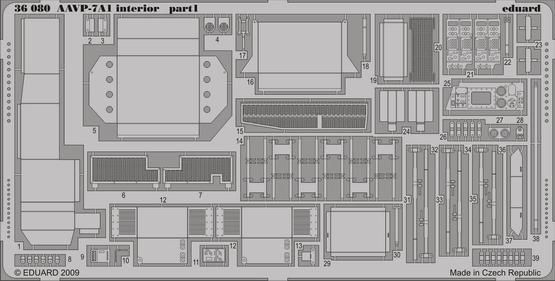 AAVP-7A1 interior 1/35  - 1