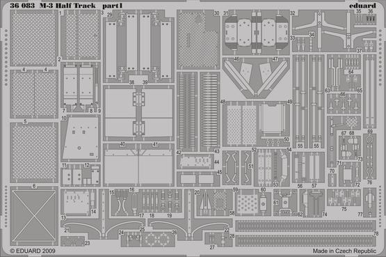 M-3 Half Track 1/35  - 1