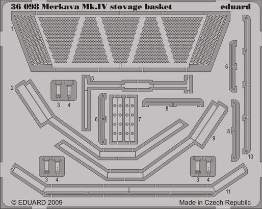 Merkava Mk.IV stowage basket 1/35
