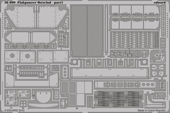Flakpanzer Ostwind 1/35  - 1