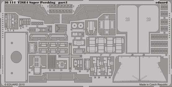 T26E4 Super Pershing 1/35  - 1