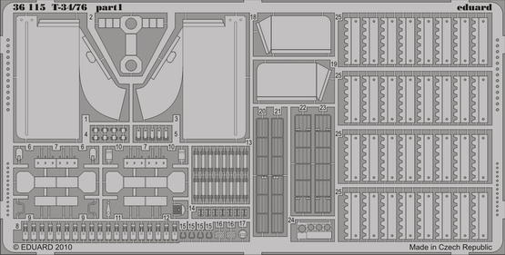 T-34/76 1/35  - 1