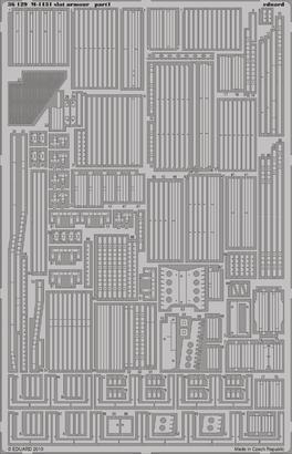 M-1131 slat armour 1/35  - 1