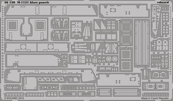M-1131 blast panels 1/35