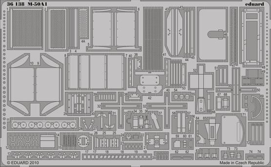 M-50A1 1/35