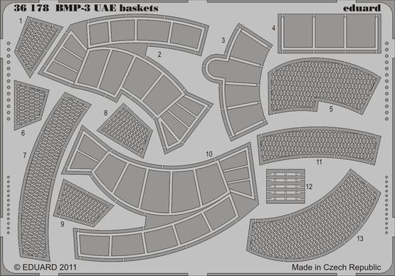 BMP-3 UAE baskets 1/35