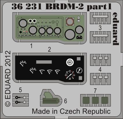 BRDM-2 early 1/35  - 1