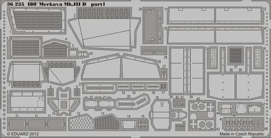 IDF Merkava Mk.IIID 1/35  - 1