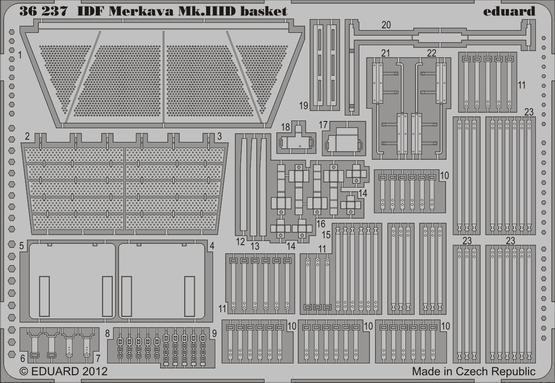 IDF Merkava Mk.IIID basket 1/35