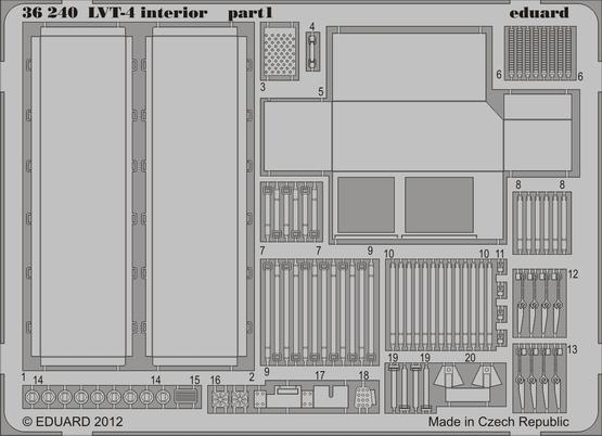 LVT-4 interior 1/35  - 1