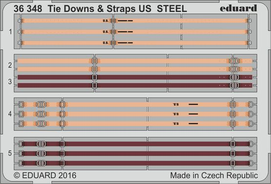 Tie Downs & Straps US STEEL 1/35