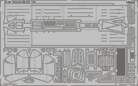 バレンタイン Mk.II/IV 1/35