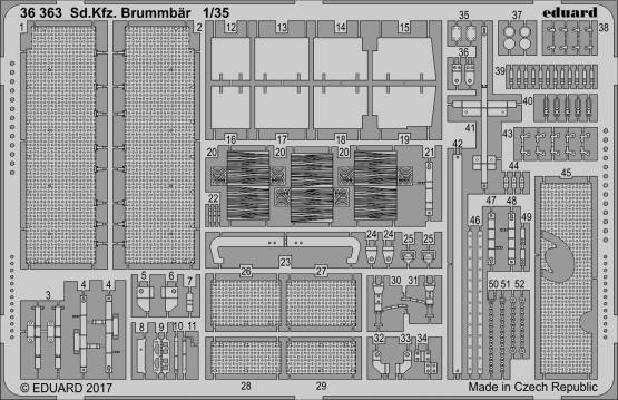 Sd.Kfz. 166 Brummbär 1/35