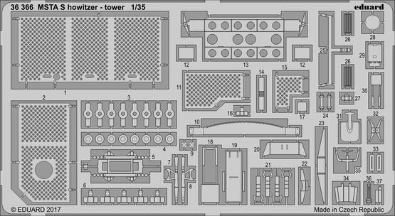 MSTA S 自走榴弾砲 タワー 1/35