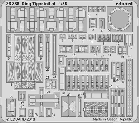 King Tiger initial 1/35