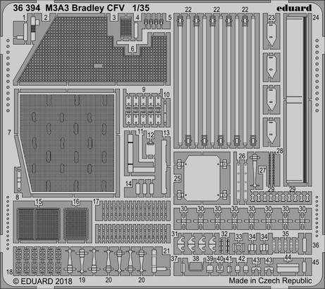 M3A3 Bradley CFV 1/35