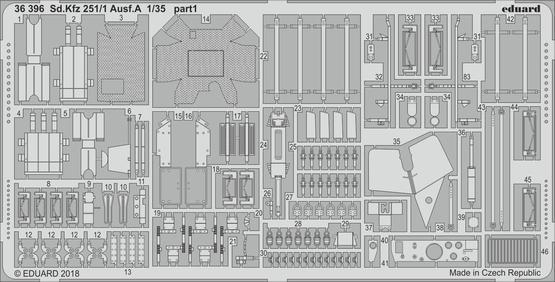 Sd.Kfz 251/1 Ausf.A 1/35  - 1