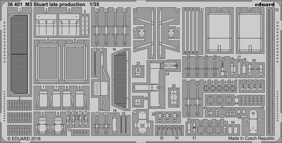 M3 Stuart late production 1/35
