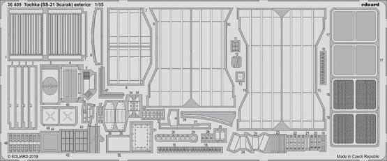トーチカ  (SS-21 スカラベ) 外装 1/35