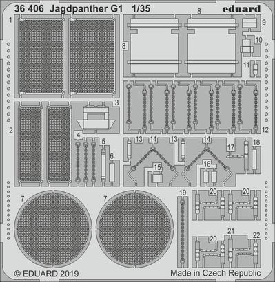 Jagdpanther G1 1/35