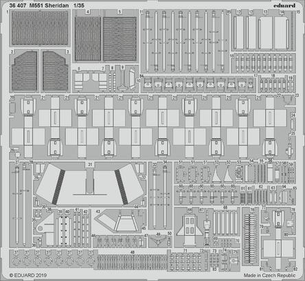 M551シェリダン 1/35