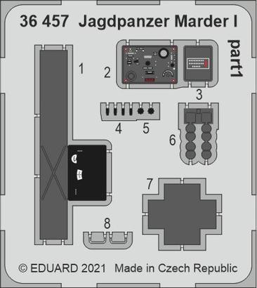 Jagdpanzer Marder I 1/35  - 1